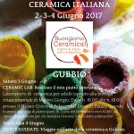 Il lungo weekend dellaCERAMICA ITALIANA2-3-4 Giugno 2017