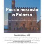 poesia palazzo Consoli